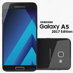 samsung galaxy a5 3d model