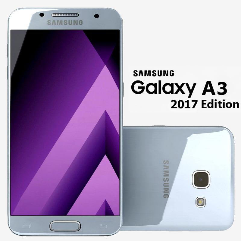samsung galaxy a3 3d 3ds