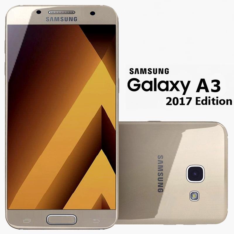 3d max samsung galaxy a3