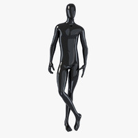 3d model male mannequin