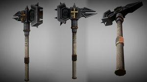 3d fantasy metal warhammer model