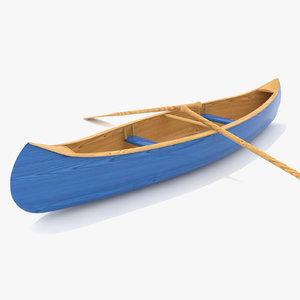 canoe rowing 3d 3ds
