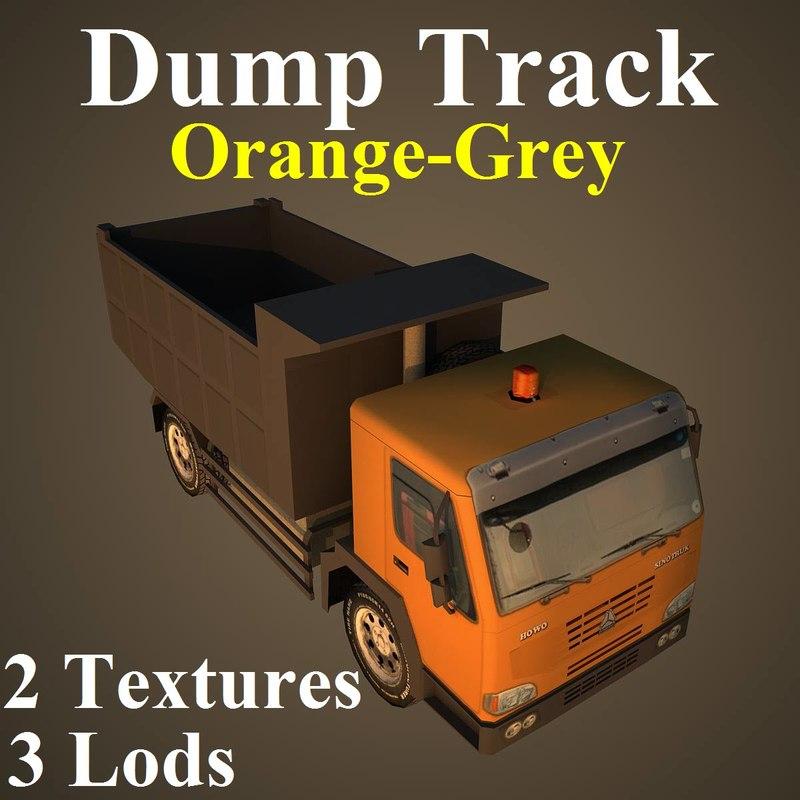 dumptrack ogr dump 3d max