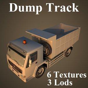 3d dumptrack dump