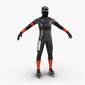 speed skater suit 2 max