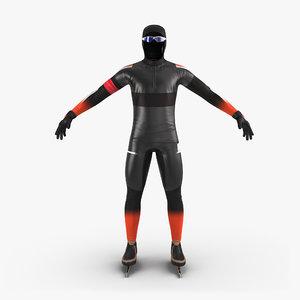 max speed skater suit 2