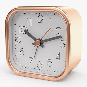 max realistic analog alarm clock