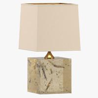 3d model marie-claude fouquieres table lamp