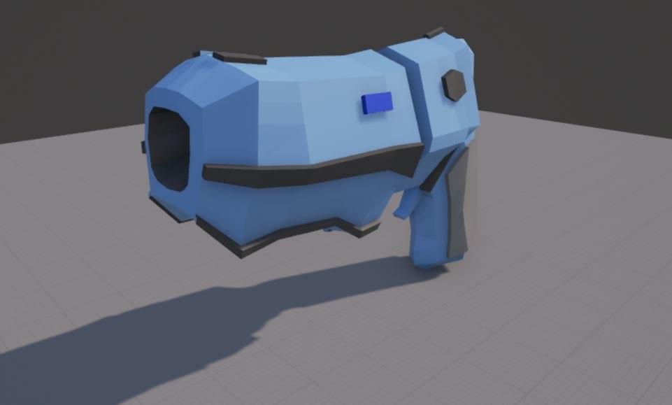 sci fi pistol 3ds