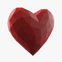 Heart Low Poly