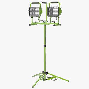 3d halogen work light 2 model