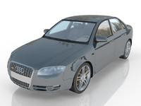 a4 car 3d max
