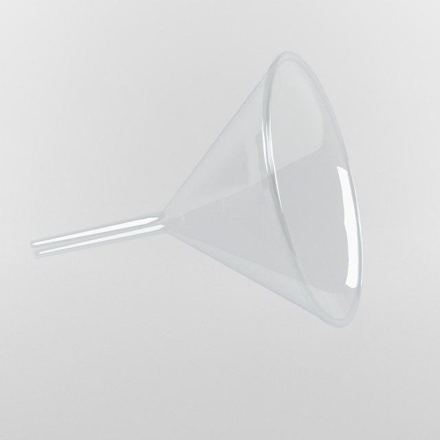funnel laboratory 3d model