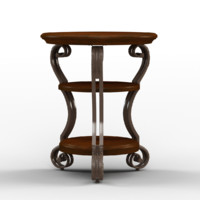 3d dixton chairside table