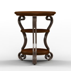 max dixton chairside table