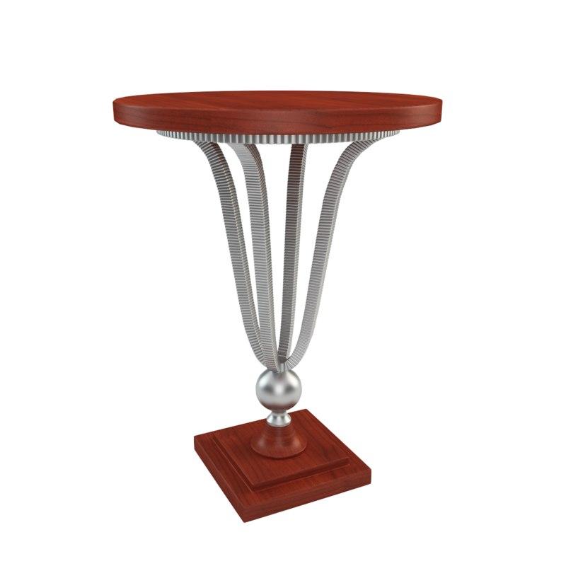 3d model cornell end table