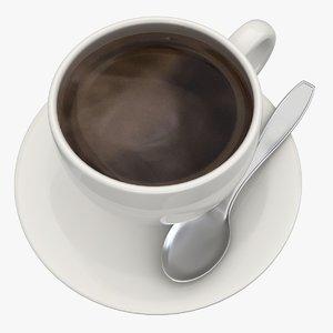 black coffee 4 3d model