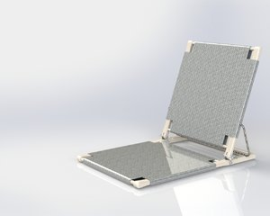 solidworks folding chair 3d 3ds