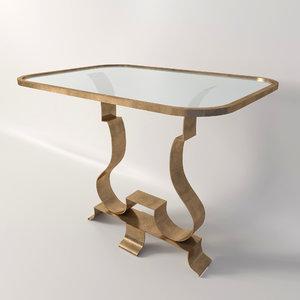 3d night table