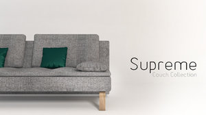 couch sofa obj
