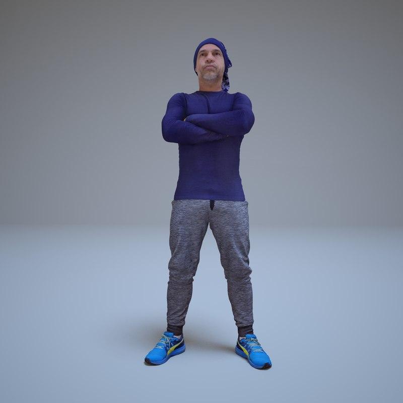 sport man people human 3d max