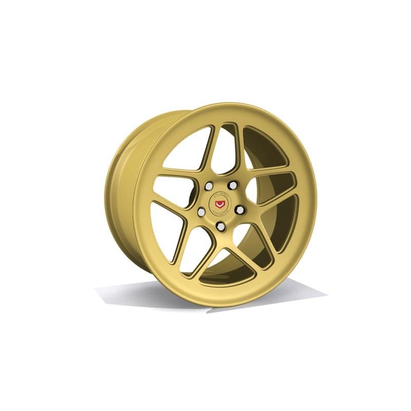 vossen lc104 wheel 3d model