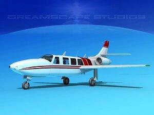 jet fj-100 fanjet piper aerostar max