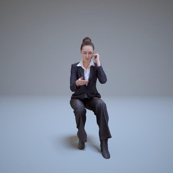 max businesswoman sitting woman human