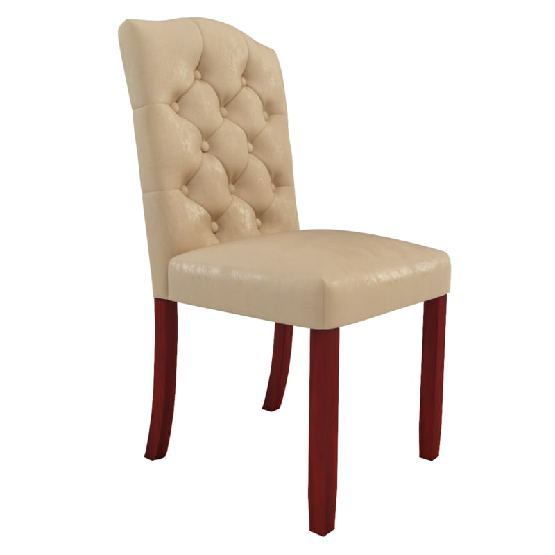 winchester dining chair 3d model