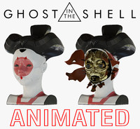 ghost shell geisha 3d 3ds