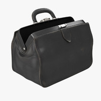 doctors black bag 3d obj