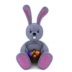 toy fur 3d model