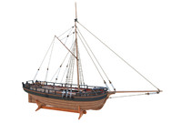 HM Gunboat William Construction 1795