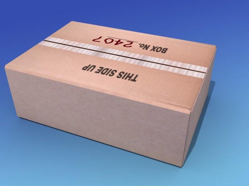3d cargo shipping