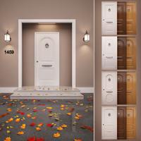3d model doors knob handle