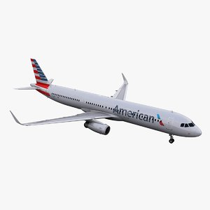 3d a321 american airlines
