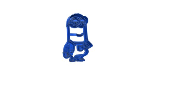 mold coockies minions kevin 3ds