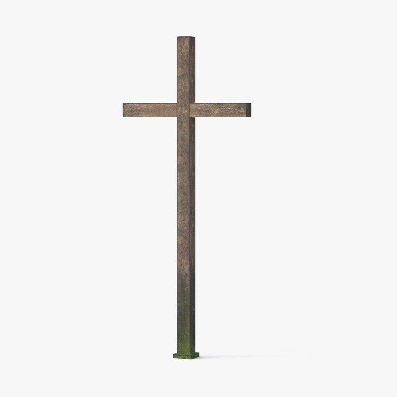 max wooden cross 01