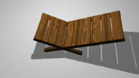 lazy chair 3d model