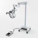 surgical microscope 3D models