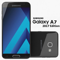 Samsung Galaxy A7 2017 Black Sky