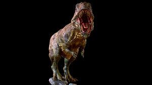 giganotosaurus 3d max