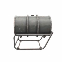 Kraftstoff 200L fuel barrel with trolley