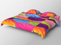 realistic bed 3d max
