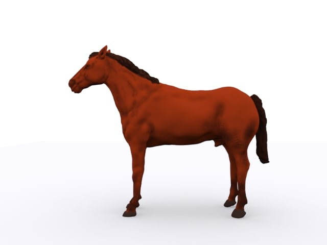 horse fbx