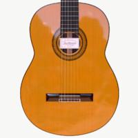 3d model guitar juan hernandes