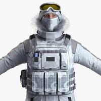 3d model realistic military vest