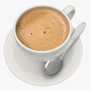 cappuccino scanline 3d model