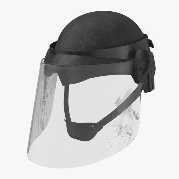 obj bloody police riot gear