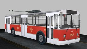 3d model ziu trolley